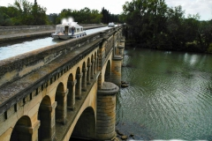 LE PONT CANAL A BEZIERS