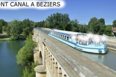 LE PONT CANAL AU DESSUS DE L'ORB